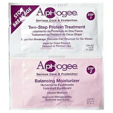 APHOGEE TWO STEP PROTEIN TREATMENT 1 oz & BALANCING MOISTURIZER 0.75 oz COMBO