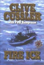 CLIVE CUSSLER FIRE ICE SIGNED FIRST EDITION