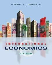 International Economics by Carbaugh (BRAND NEW US HARDCOVER STUDENT 15/E)