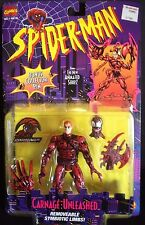 TOY BIZ SPIDER-MAN ANIMATED SERIES CARNAGE UNLEASHED ACTION FIGURE MARVEL S-53