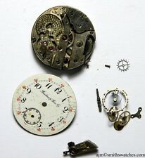 BARTENS & RICE CO NEW YORK HIGH GRADE WATCH MOVEMENT SPARES REPAIRS PROJECT DD39