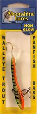"MOONSHINE LURES METALLIC SHIVER MINNOW SIZE #3 3-1/2"" 1 oz - GOLDEN PERCH"