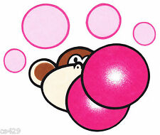 "5"" BOBBY JACK MONKEY BURST MY BUBBLE CHARACTER WALL SAFE FABRIC DECAL CUT OUT"