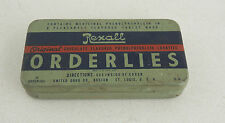 Rexall Orderlies Tin Chocolate Flavored Laxitives (GB1)