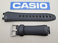 Genuine Casio G-Shock G3100 G3110 G3310 black resin rubber watch band strap