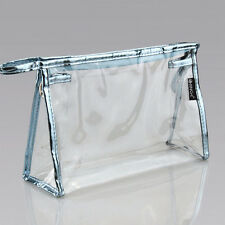Waterproof Cosmetic Toiletry Makeup Bag PVC Clear Travel Wash Pouch Holder Case