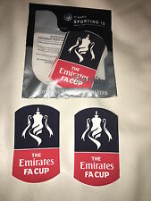 Emirates FA Cup Final 2016 Shirt Sleeve Patches - 100% Genuine Sporting iD