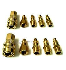 "10pc Air Hose Fast Quick Release Coupler Connector 1/4"" NPT Fitting Compressor"