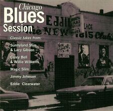 Eddie Clearwater etc: Chicago Blues Sessions - as new CD (1996)