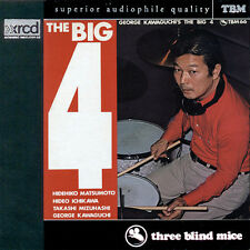 THE BIG 4 XRCD George Kawaguchi JVC NEW/Sealed CD OOP Three Blind Mice TBM Four