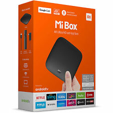 Xiaomi Mi Box 4K HDR 2016 Android TV 8GB Media Streamer - Chromecast built-in -