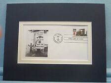 World War II - The Red Ball Express & First Day Cover of its own stamp