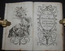 Der Christ im Geist der Andacht – Prag 1795 – Mit Kupfern