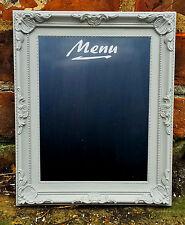 Shabby Chic menu Lavagna ORNATA Design Memo Board, Lavagna Grigio