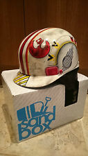 STAR WARS LUKE SKYWALKER BATTLE WORN X-WING FIGHTER PILOT SKI SNOWBOARD HELMET