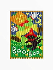 Halloween Boo! Beaded Banner Pattern