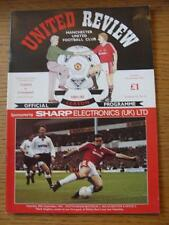 06/10/1991 Manchester United v Liverpool  (No obvious faults)