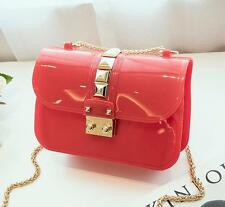 N014 women Jelly bag chain handbag messenger travel shouder small phone Bag