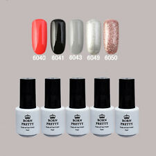 5 Flasche BORN PRETTY Soak Off One-step Gel 5ml Nagellack 6040/41/43/49/50