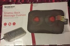 Silvercrest Shiatsu Back Massage Cushion- NEW