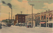 Post Card - Akron / Ohio - Exchange St. looking West from High St.