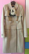 Burberry prorsum beige corset trench coat taille 42