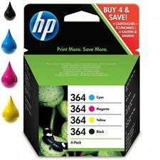 Original Genuine HP 364 Ink Cartridges For Photosmart C310a Premium (SD534EE)