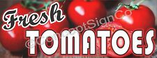 2'X5' FRESH TOMATOES BANNER Outdoor Sign Farm Fruit Stand Farmers Market
