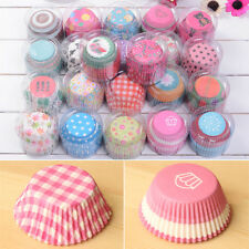 100pcs/set Greaseproof Paper Cake Cupcake Liner Case Wrapper Muffin Baking Cup