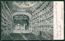 Napoli Città Teatro PIEGA cartolina XB5028