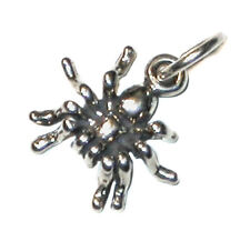 .925 STERLING SILVER CHARM Halloween Insect Arachnid SPIDER