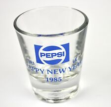 Pepsi Cola Glas USA Stamper Stamperl Schnapsglas shot glass 1985