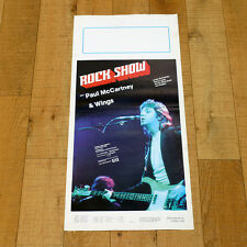 ROCK SHOW locandina poster affiche Paul McCartney & Wings Denny Laine Music