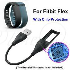 USB Charging Cable Cord Charger for Fitbit Flex Bracelet Wristband Chip Protect
