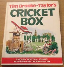 CRICKET BOX Tim Brooke-Taylor's Book (PAPERBACK)