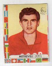 figurina - CALCIATORI CILE LAMPO 1962 - NUMERO 171 RUSSIA METREVELI