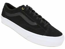 VANS Men's U Style 36 Slim Low Top Sneakers Black Lace-up Size Men's 7 M