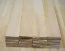 "1/8"" Maple thin boards lumber wood crafts scroll saw work and crafts"