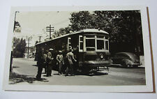 CAN096 1947 TORONTO TRANSPORTATION Commission TROLLEY CAR No2726 PHOTO - CANADA