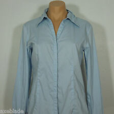 G2000 Women's Career Blue Button Front Collared Shirt size 11