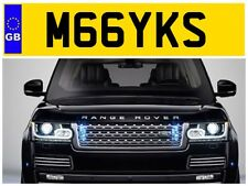 M66 YKS MICKY MIKE MAC MICKY MIKEY MICHAEL MICK MIKES PRIVATE NUMBER PLATE FORD