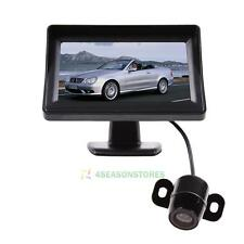 4.3'' TFT LCD Monitor + Mini Wireless Car Parking Reverse Back Up Camera CMOS