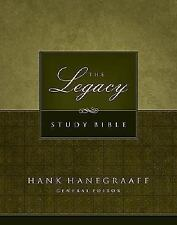 The Legacy Study Bible (2007, Bonded Leather)