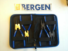 "Bergen 6"" circlip plier / pliers set and carry case internal / external by B1731"