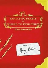 Fantastic Beasts and Where to Find Them by Newt Scamander (Hardcover)