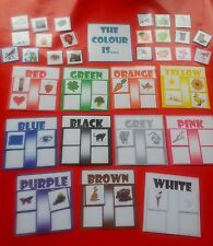COLOUR MATCH - THE COLOUR IS... SPECIAL NEEDS / AUTISM/ FIRST LEARNING/ RESOURCE