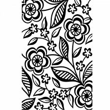 "Darice 4.23"" x 5.75"" Embossing Folder - 1219-112 - Dainty Flower"