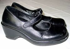Womens Dansko Mary Jane Shoes Size 36 Block Medium Heel