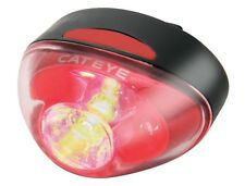 CATEYE TL-RAPID 1 SINGLE REAR LED CYCLE LIGHT USB CHARGE High Power 4 Modes