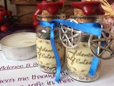 WHITE WITCHCRAFT HERB SPELL BOTTLE KIT - FOR CONFIDENCE AND SELF ESTEEM - WICCA